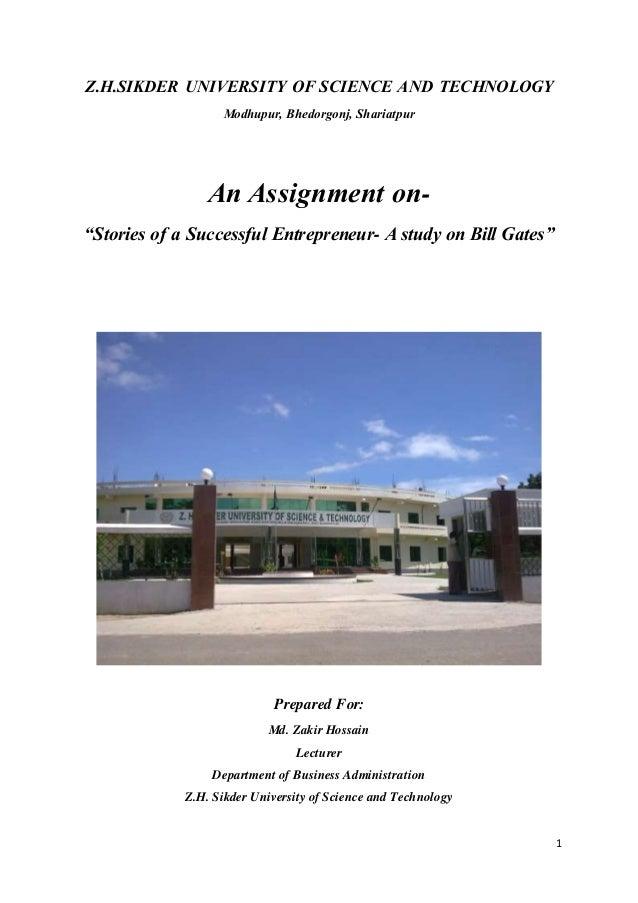 entrepreneurship assingnment Entrepreneurship assignment - download as word doc (doc / docx), pdf file (pdf), text file (txt) or read online.