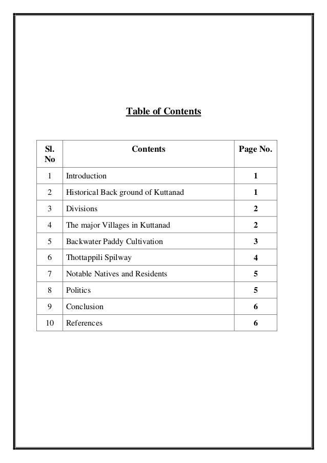 write my research paper - thesis contents page