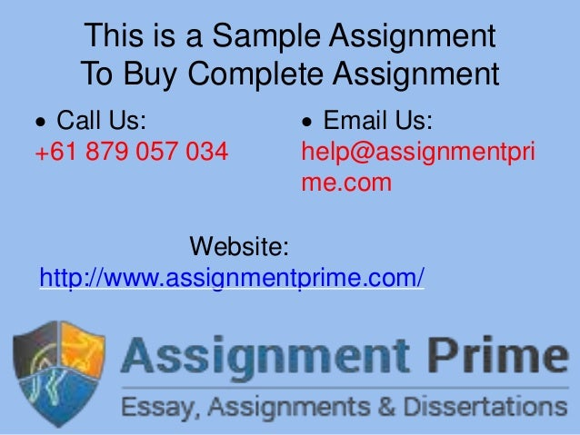 Assignment to