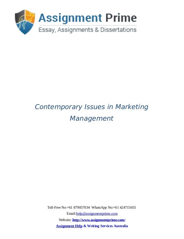 handling contemporary management issues essay