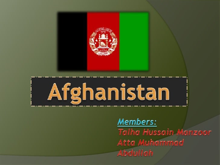 Assignment principles of exporting   afghanistan (talha n atta)