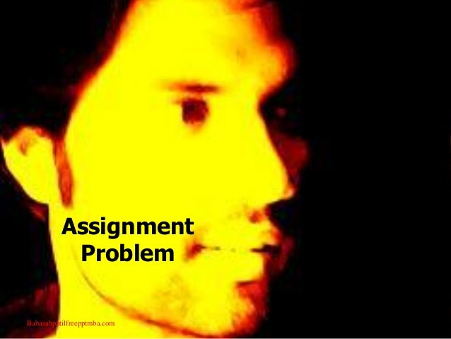 assignment problem Summary: the objective of the quadratic assignment problem (qap) is to assign \(n\) facilities to \(n\) locations in such a way as to minimize the assignment cost the assignment cost is the sum, over all pairs, of the flow between a pair of facilities multiplied by the distance between their assigned locations case study.