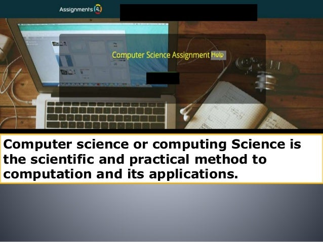Computer science homework
