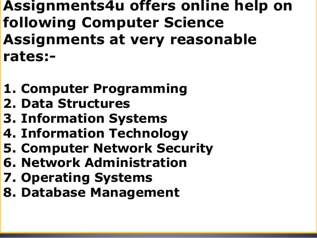 Homework solutions online