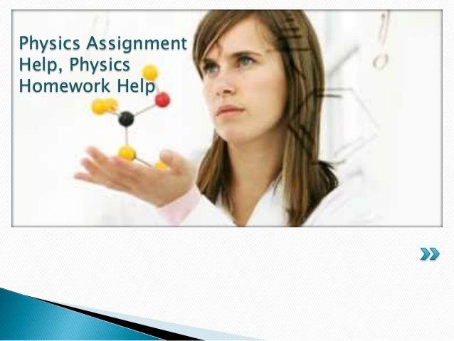 Help My Physics Homework