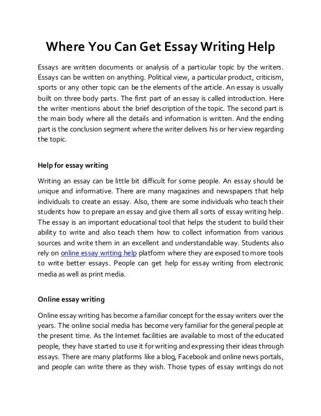 can you help me write an essay You wonder: who can write my essay for me right now if you do not have time to tackle all essays - let our expert service help you out with writing immediately.