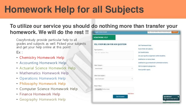 Geography homework help online
