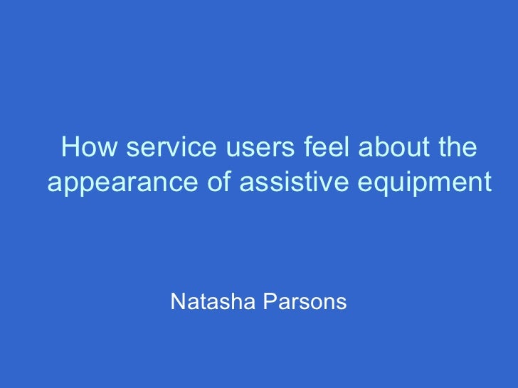 assistive-equip-LLL event-London region-parsons.pp.ppt