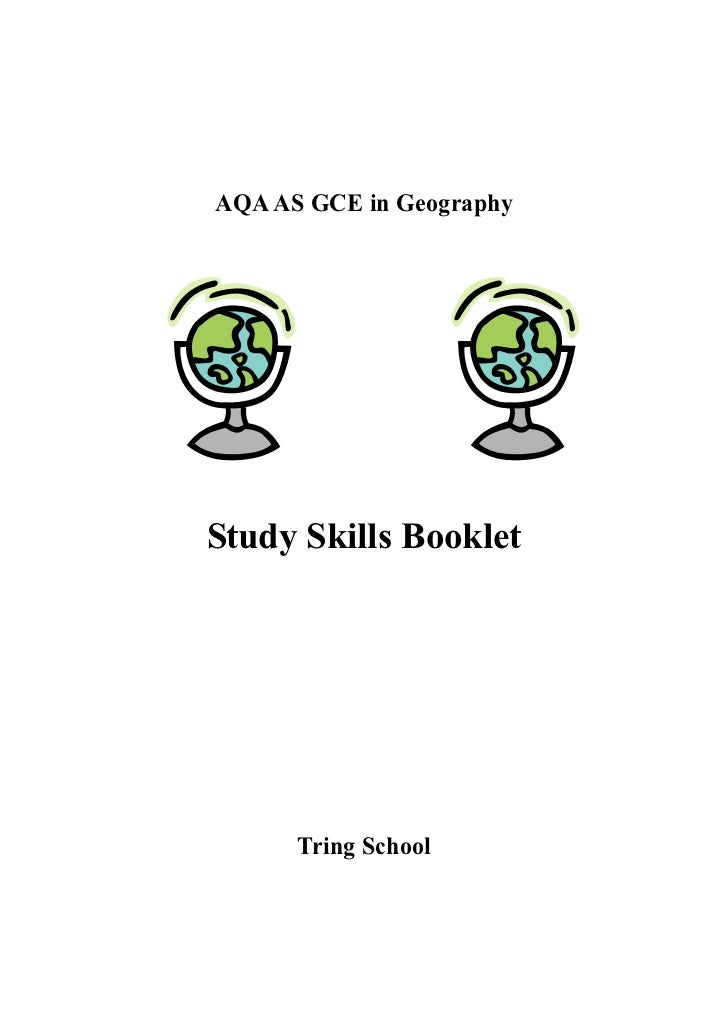 As skills booklet jan09
