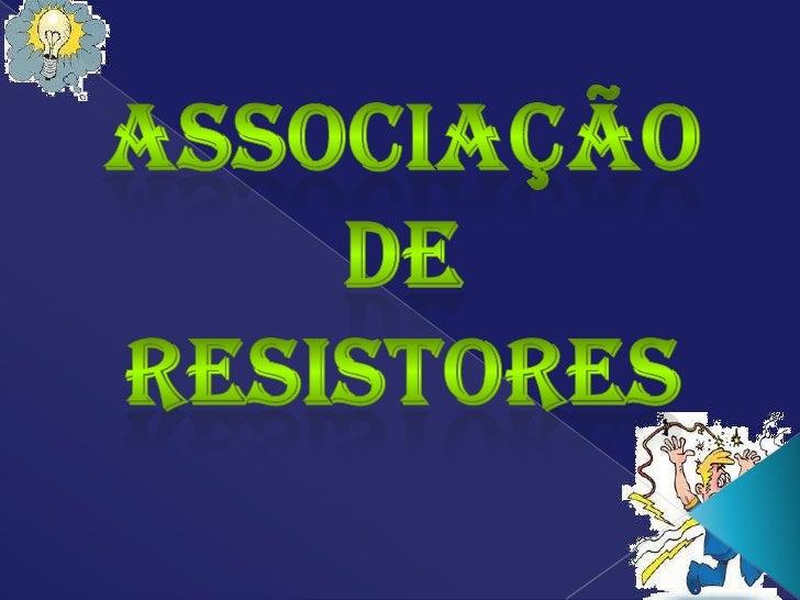 Associação de resistores em paralelo e mista 3