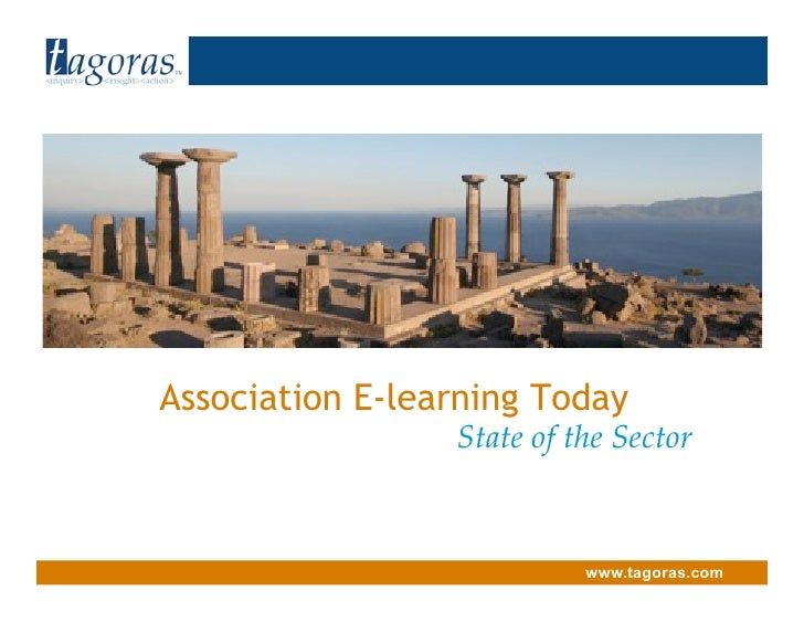 Tagoras <inquiry> <insight> <action>                                    Association E-learning Today                      ...