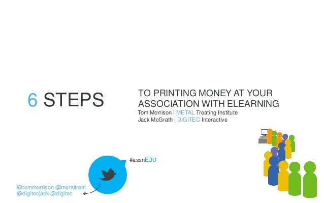 6 Steps to Printing Money at Your Association with eLearning Slides