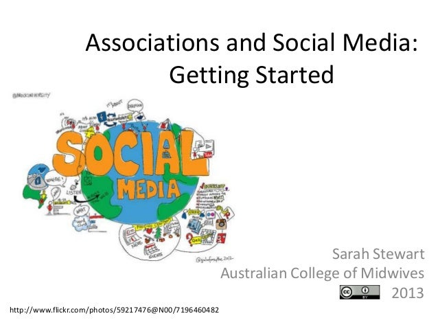 Associations and social media