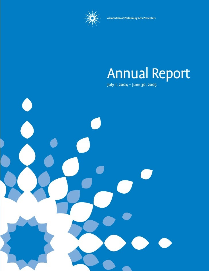 Annual Report July 1, 2004 – June 30, 2005