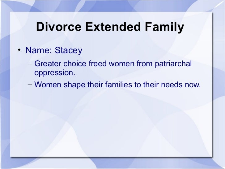 sociology research papers on divorce