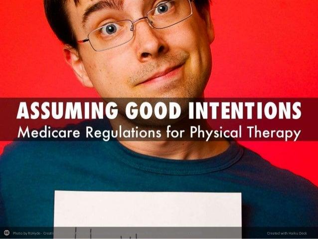 Assuming good-intentions