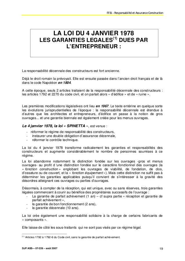 Modele Mise En Demeure Garantie Decennale Document Online