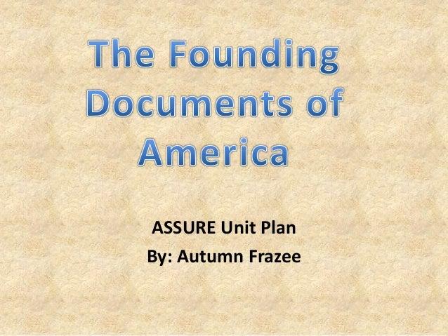 ASSURE Unit PlanBy: Autumn Frazee