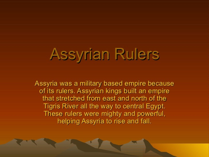 siege and assyrians essay example This example assyria essay is published for educational and informational purposes only if you need a custom essay or research paper on this topic please use our.
