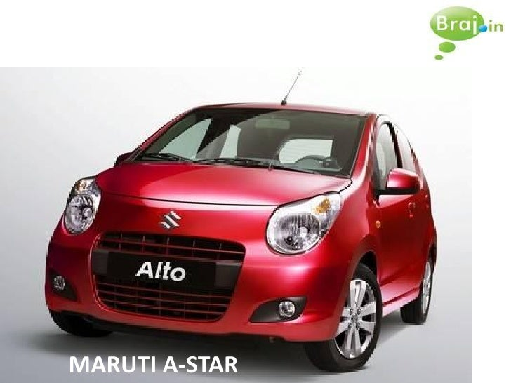 Maruti A-Star: SMM Initiative