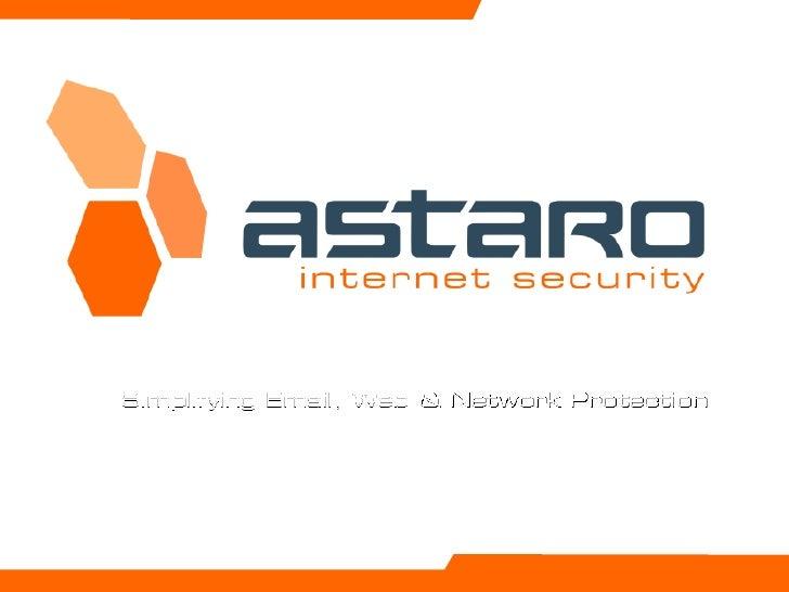 Astaro Customer Presentation