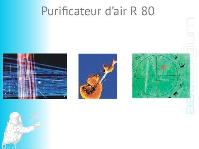 Purificateur d'air R 80