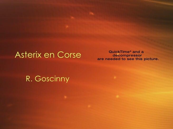 Asterix en Corse   R. Goscinny