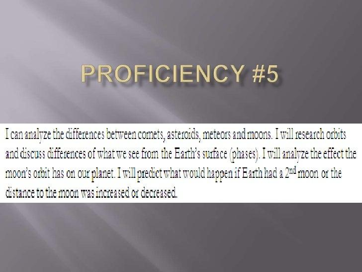 Proficiency #5<br />