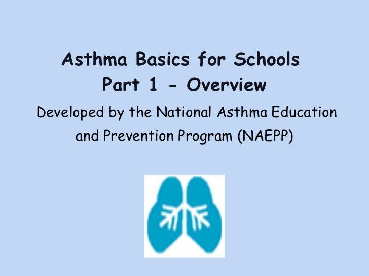 Asthma Part 1