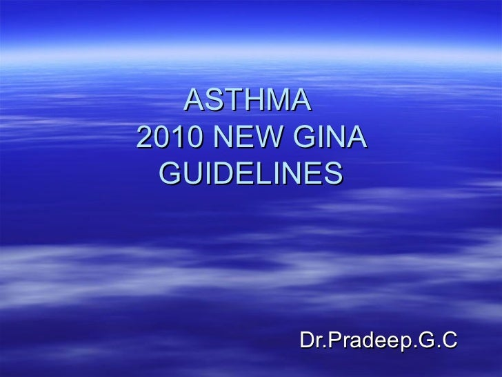 asthma latest guidelines Overview of asthma symptoms, asthma diagnosis, asthma treatment and asthma management written by the leading experts in allergy, asthma and immunology  keep pace with the latest information and connect with others join us on facebook and twitter test your knowledge about eib and asthma  expert panel report 3: guidelines for the.