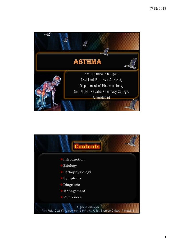 Asthma by jitendra bhangale