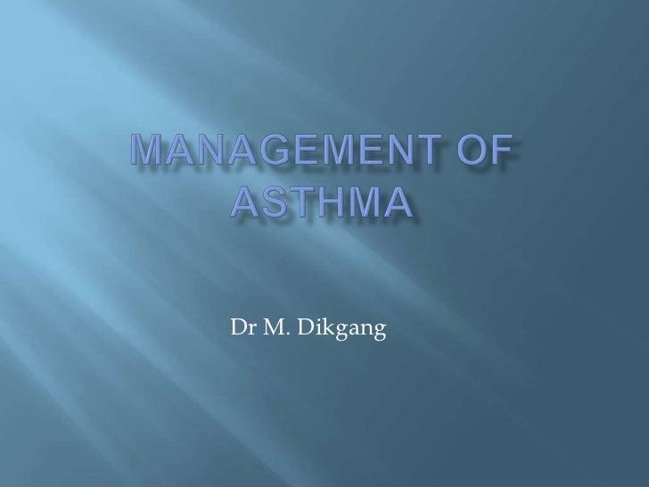 Asthma presentation2011