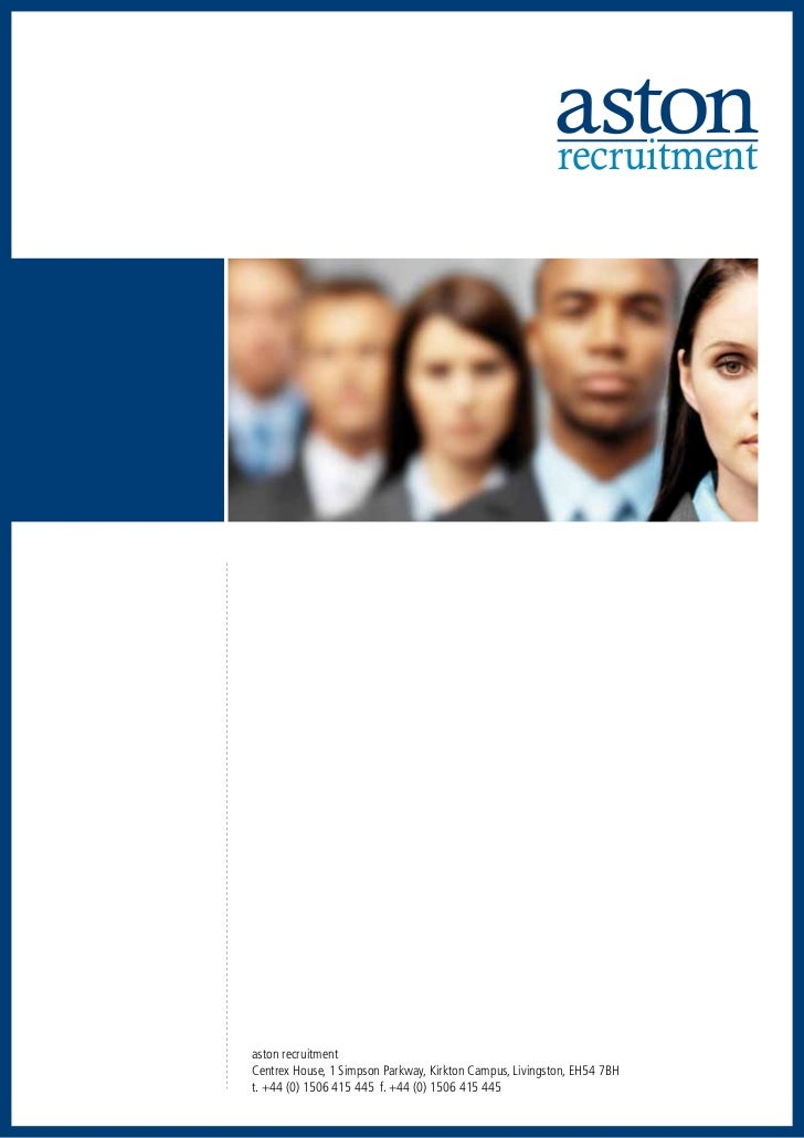 Aston Recruitment Brochure Web