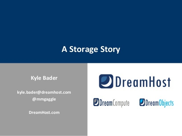 A Storage Story #ChefConf2013