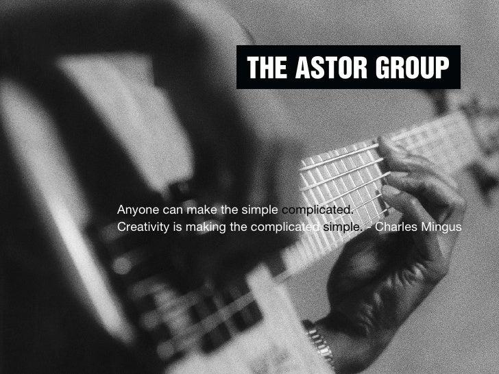 Astor Group Brochure