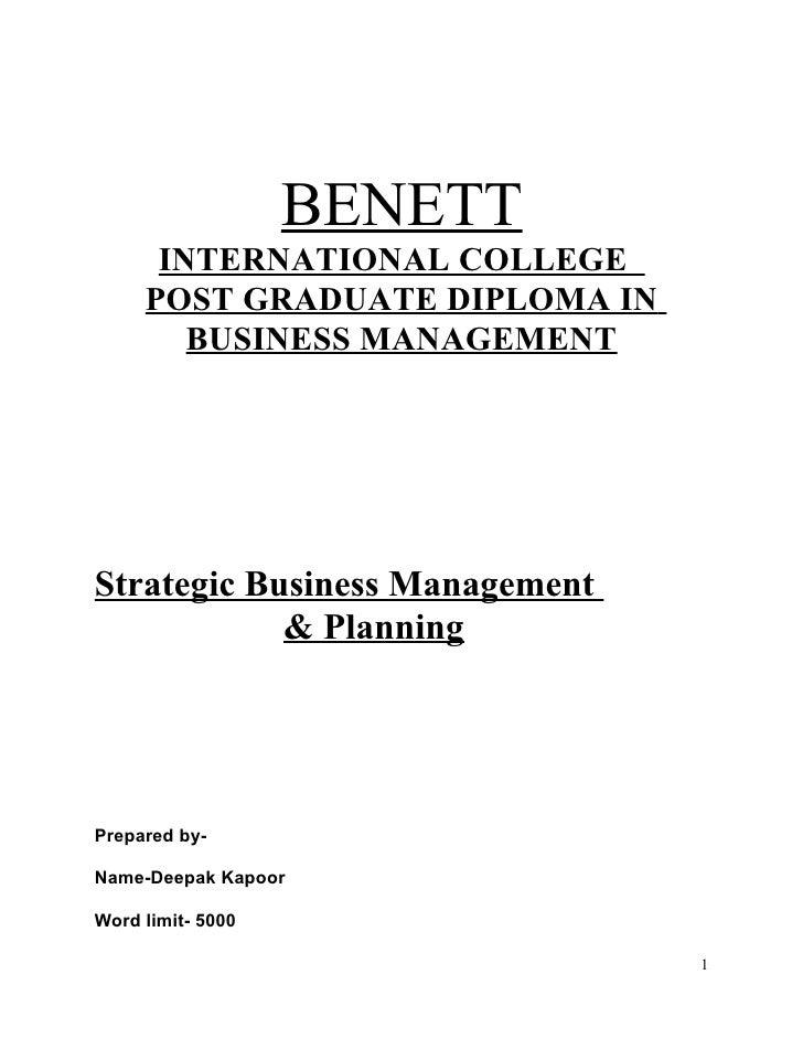 A strategic business_management_&_planning_deepak_kapoor_a[1] final