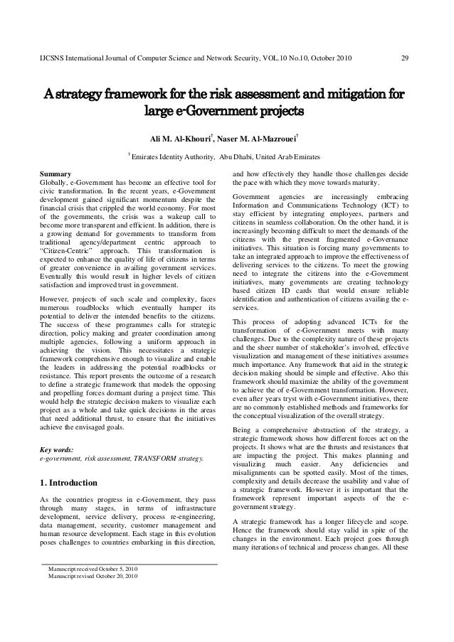 IJCSNS International Journal of Computer Science and Network Security, VOL.10 No.10, October 2010                         ...