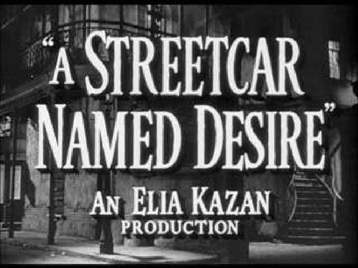 an analysis of the street car named desire by tennessee williams In the classic play by tennessee williams,  movies like a streetcar named desire are the types of films i like to  to use that old cliche, a bad car wreck.