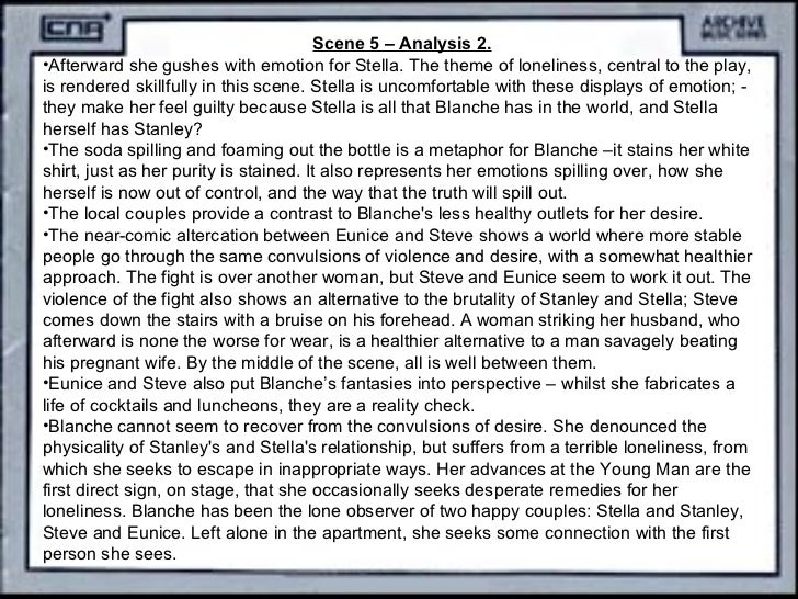 the two different worlds of stella in the play a streetcar named desire What are the contrasts between stanley and blanche in comes from a very different world to of the book 'a streetcar named desire' blanche in.
