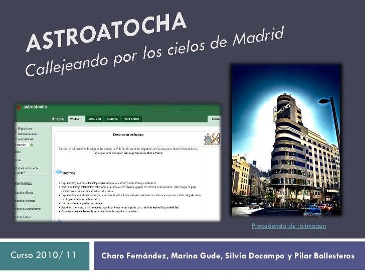 Procedencia de la imagenCurso 2010/ 11   Charo Fernández, Marina Gude, Silvia Docampo y Pilar Ballesteros