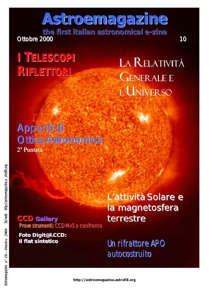 Astroemagazine                                                          the first italian astronomical e-zine             ...