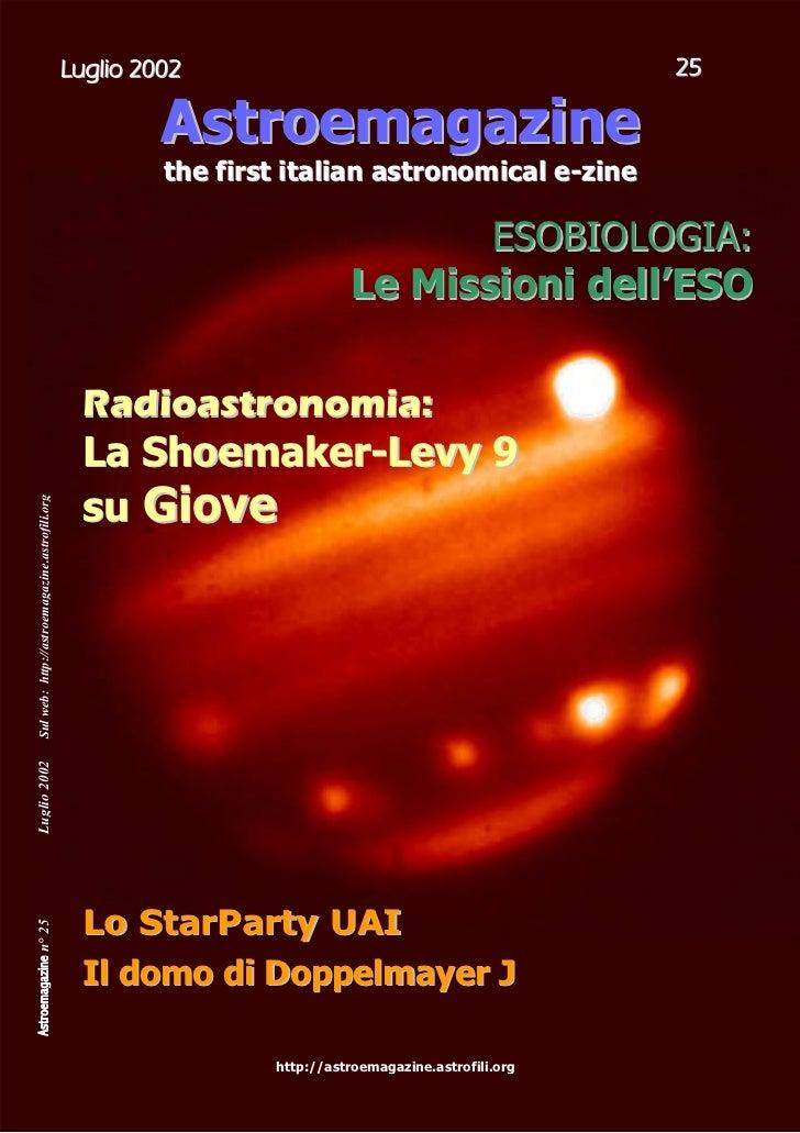 Astroemagazine n25 pag.1-22