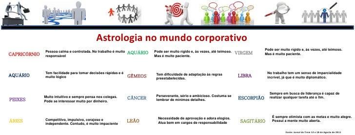 Astrologia no mundo corporativo