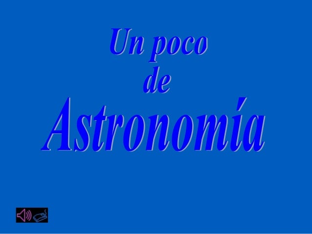 Astronomía y universo