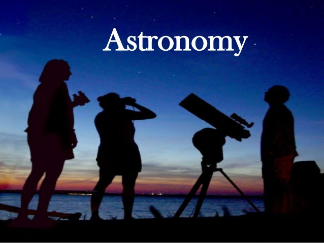 Astronomy by Victor R. Oribe