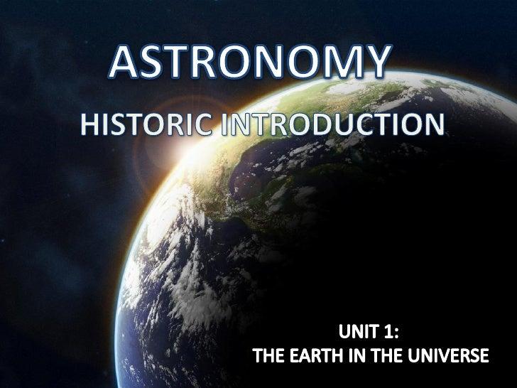 Astronomy slideshow
