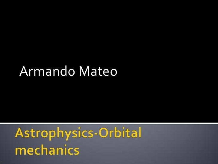 Armando Mateo