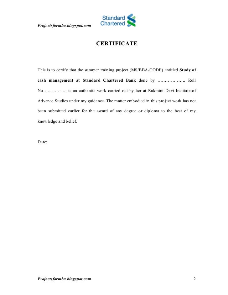 standard chartered essay