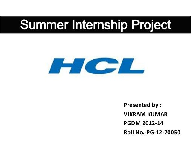 A study on consumer behavior HCL towards the uses of its products