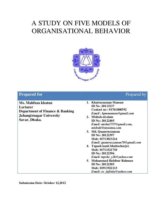 study case on organizational behavior Bahasa indonesia organizational culture in google inc innovation with a strong organizational culture case study the behavior patterns of.